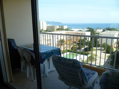 Photo for Nice apartment with sea view Le Lavandou