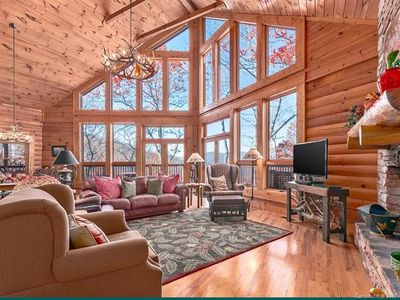 Photo for Leins Lodge Luxury Home with Stunning Mountain Views