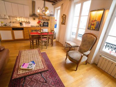 Photo for A duplex apartment in the heart of Montmartre