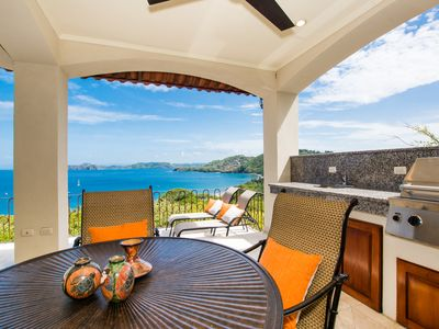 Photo for Killer ocean view, 3BR condo, with private terrace with outside grilling station