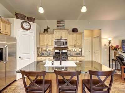 Photo for **Brand new VRBO listing** Immaculate meadowlake property. Summer hot tub / pool