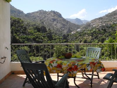 Photo for Spacious duplex apartment close to mountain and beach in Los Guajares (Granada)