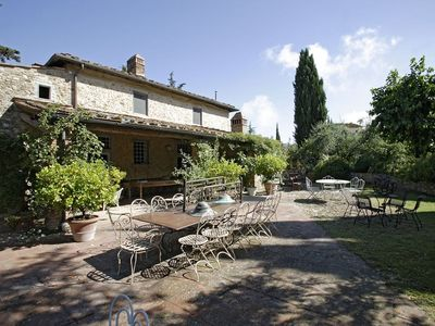 Photo for Stay in the quiet of the Chianti countryside amongst vineyards and olive groves