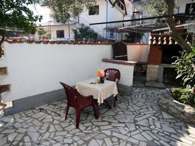Photo for One bedroom apartment with terrace Podaca (Makarska)