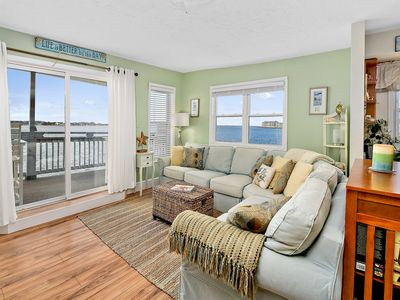 Photo for 2 BR 2 BA Direct Bay Front Unit.  Best Fishing and Sun Sets Around!