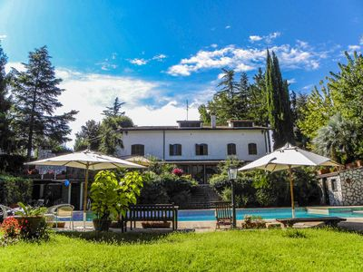 Photo for Villa with large private pool, billiard 20 kms northern Rome & 3km from village