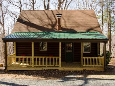 Photo for Secluded Quiet 3 Bedroom 2.5 Bath Cabin Mins to Lynchburg / Amherst