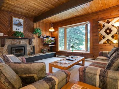 Photo for SR104 *Rustic cabin style interior *Short walk to SUmmer Activities*