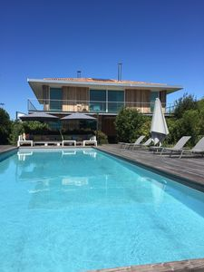 Photo for Magnificent villa overlooking the Bassin d'Arcachon