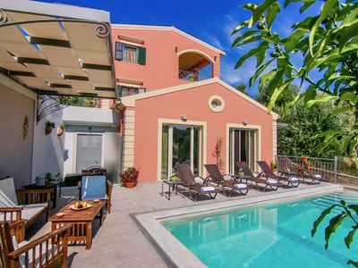 Photo for Brand new villa with private pool perfectly located close to Corfu town and sea
