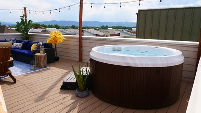 Photo for Rooftop Oasis, with Hot Tub and Mtn Views in Old Town Fort Collins!