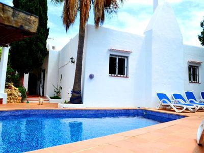 Photo for 8 person Ibiza villa with private pool and beautiful view!