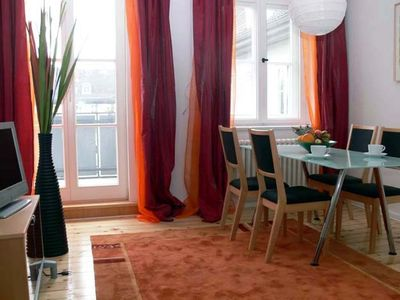 Photo for Central location, sunny, quiet, comfortable, balcony, flat-rate internet
