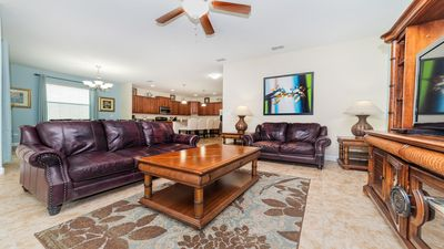 Photo for Modern Bargains - Paradise Palms Resort - Welcome To Spacious 6 Beds 5 Baths Villa - 4 Miles To Disney