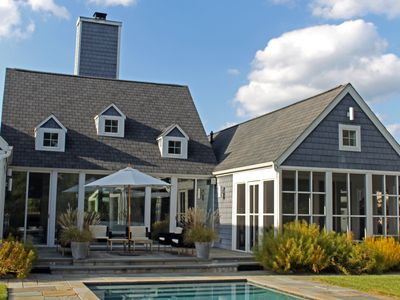 Photo for Luxurious Modern Rehoboth Beach Retreat with Pool by an Award-winning Architect