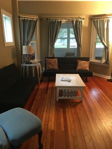 Photo for 3 BR, 1 1/2 BA in Historic Garfield House; 5-night summer rentals