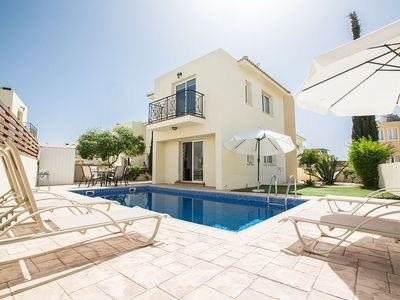 Photo for Villa Nelopis Dyo - Lovely 3 Bedroom Pernera Villa with Pool - Walking Distance to Amenities