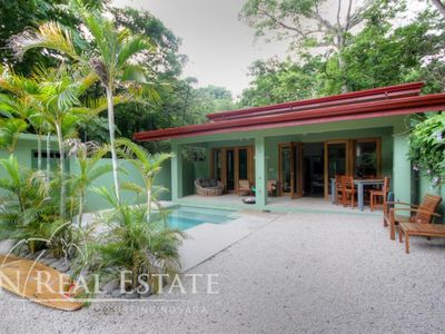 Enjoy luxury in the jungle steps from Playa Guiones