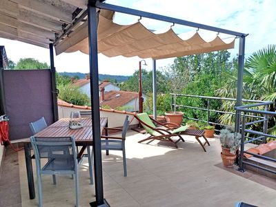 Photo for Holiday apartment apartment for 3 persons, wi-fi, A / C and with sea view