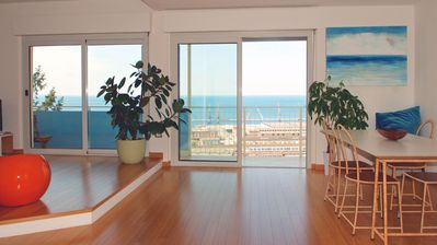 Photo for SeaTrieste: loft with full sea views