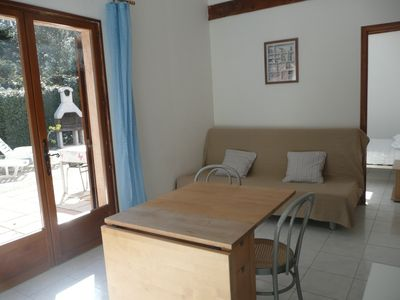 Photo for Presqu island Giens Apartment - Aquabella Gîte - Self Catering - Almanarre Beach