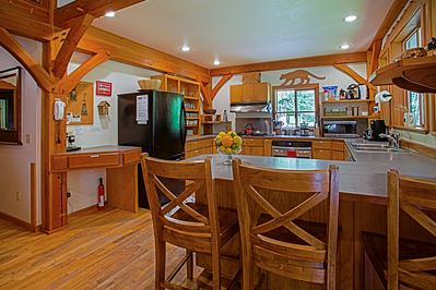 Fully equipped kitchen allows you to prepare meals