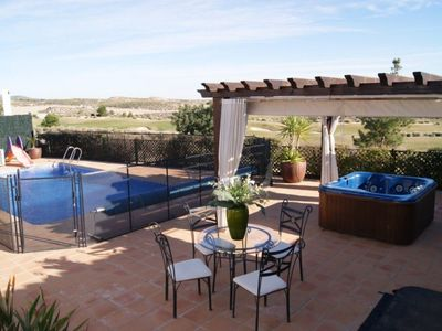 Photo for Imagine Renting Your Own 5-Star Private Villa with Majestic Views, a Private Pool, Jacuzzi and Table Tennis, Villa Cleopatra