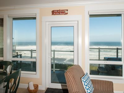 Photo for *Promo!* Corner Oceanfront Condo/Private Hot Tub/Indoor Pool/WiFi and Much More!