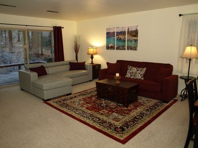 Photo for Cozy, Family-Friendly Cabin near Diamond Peak, with Lovely Creek & Pool (Summer)