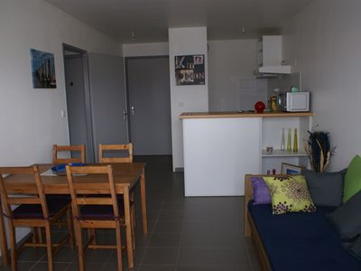 Photo for T2 40 M2 + GARDEN APARTMENT - QUIET RESIDENCE NEAR BEACH AND SHOPS