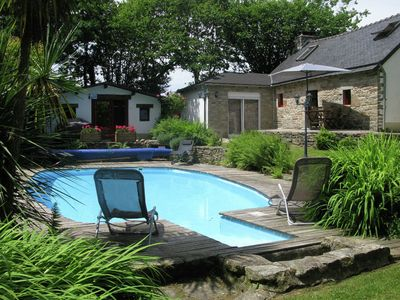 Photo for Detached house with a well-maintained enclosed garden with a private swimming pool.