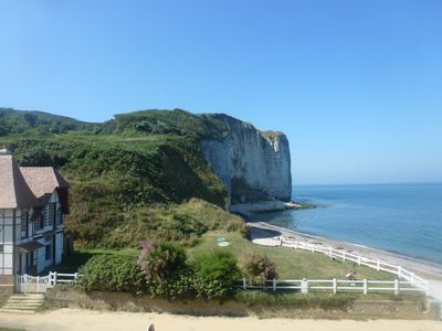 Photo for Cottage on the beach in Vattetot sur Mer, near Etretat in Normandy