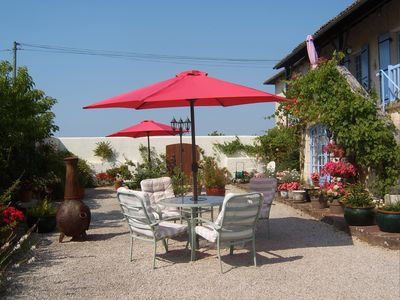 Photo for IDEAL FOR COUPLES - Gite with private pool and spectacular views