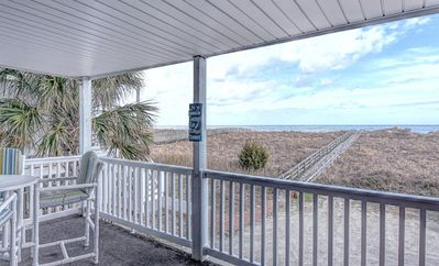 Photo for Oceanfront Condo In Carolina Beach- Pet Friendly