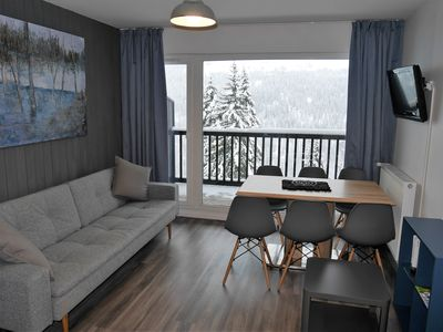 Photo for Newly renovated apartment in Flaine Foret (6 pers)