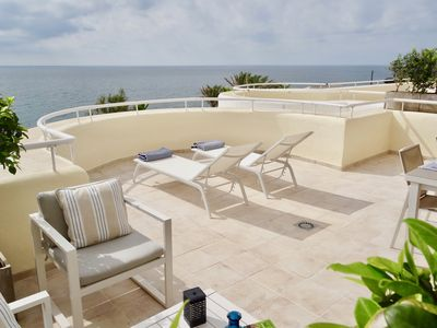 Photo for NEW LISTING. Sinfonia del Mar. Spectacular first line apartment. Large terrace