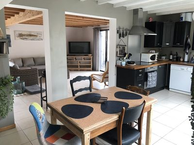 Photo for Nice house close to the Naiades beaches