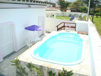 Photo for House Enseada 4 beds, 4 toilets, 2 qd of the beach. See values !!!