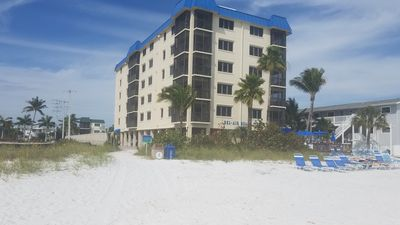 Photo for BEACH SIDE NORTH END 2 BEDROOM 2 BATH CONDO WITH POOL AND NICE BEACH DECK