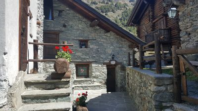 Photo for Stone chalet in the heart of the Aosta Valley