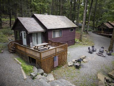 Photo for Lakeside Chalet with Boat Dock #3