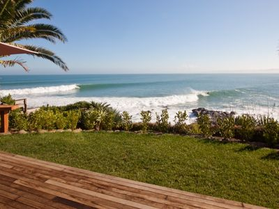 Photo for Whale Bay Surf Bach Absolute Waterfront at Surf