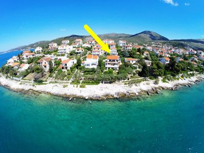 Photo for 2BR Apartment Vacation Rental in Seget Vranjic, Trogir riviera