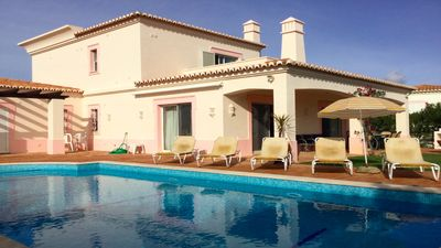 Photo for Stunning luxurious villa with pool, situated at Gramacho Golf Resort in Algarve.