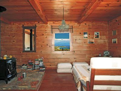 Photo for SERENE HOLIDAYS IN NATURE AT A  LOG CABIN IN KORONI