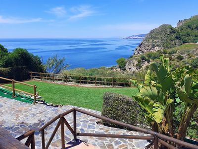 Photo for BELLA SIRENA, independent and private villa with large terraces and garden