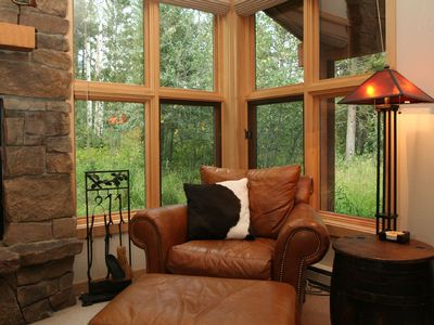 Quiet, private setting in the woods