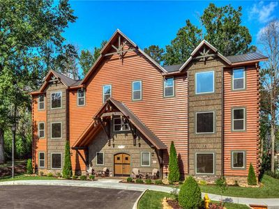 Photo for New Custom Build! | The Big Oak Lodge | Heart of Downtown Gatlinburg| Theater Room | Pool Access