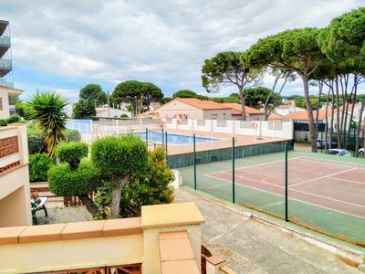 Photo for Villa Montemar, 12 min from the beach, TERRACE, BARBECUE, WIFI, COMMUNAL POOL