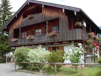 Photo for Apartment in Lenggries with balcony and a view of the Alps